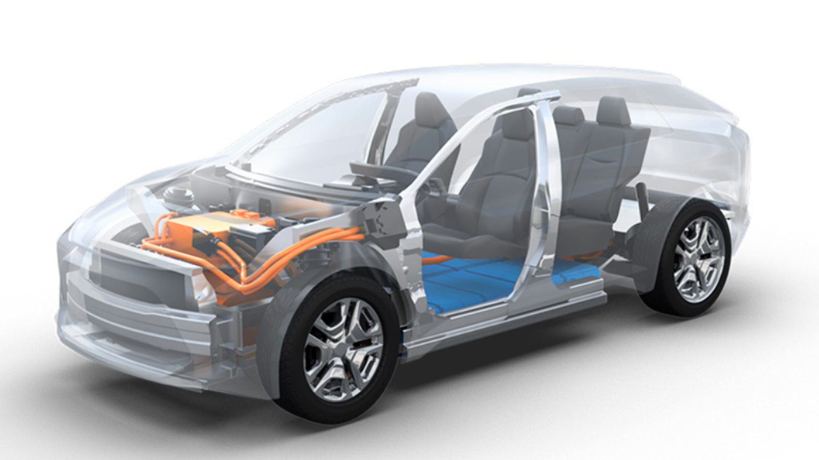 Here U0026 39 S A First Look At Toyota And Subaru U0026 39 S Electric Car