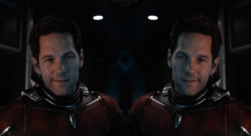 A new Netflix series will pit Paul Rudd against Paul Rudd. Here's what that might look like (if they were both dressed as Ant-Man).