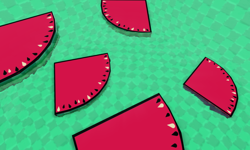 Illustration for article titled A Game Jam About Watermelons All Started Because Of A Joke