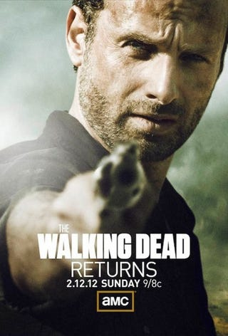 Illustration for article titled The Walking Dead Poster