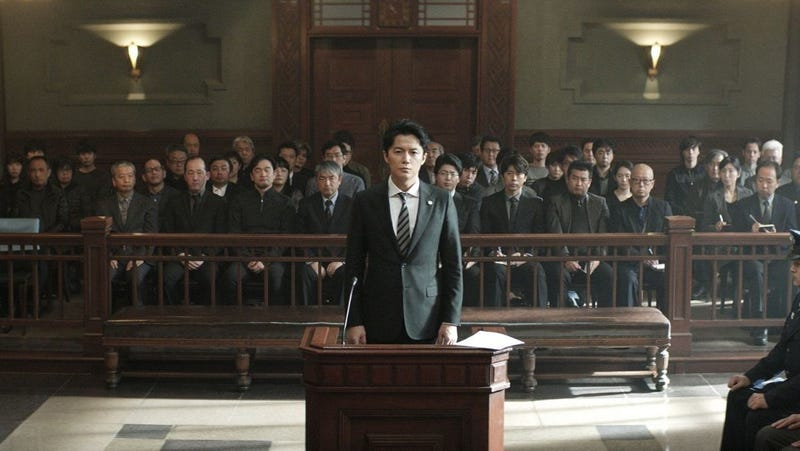 Illustration for article titled Before winning the top prize at Cannes, Hirokazu Koreedabungled the case of The Third Murder