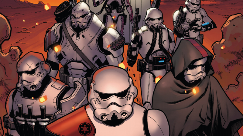 Illustration for article titled The Star WarsComic Has Given Us Some Worryingly Efficient Stormtroopers