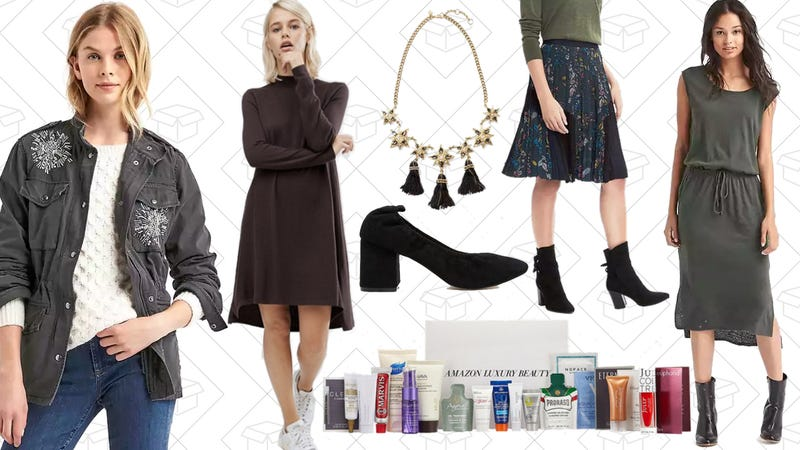 Illustration for article titled Today's Best Lifestyle Deals: Amazon Beauty, ASOS, Banana Republic, GAP, and More