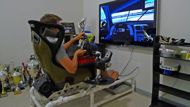Diy Pvc Driving Simulator Do It Your Self