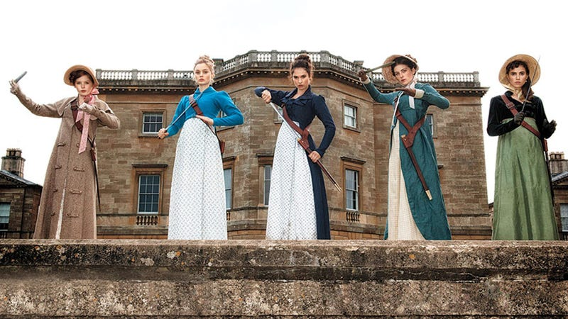 Illustration for article titled Pride and Prejudice and Zombies Trailer Promises Proper Zombie Madness