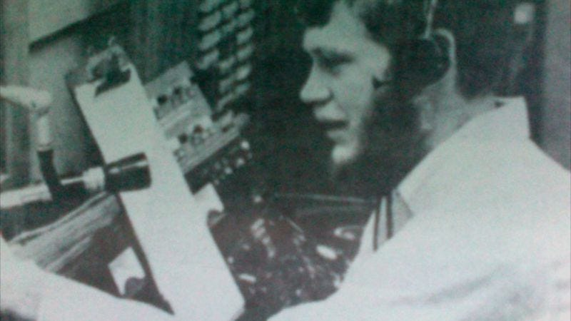 """Illustration for article titled Hear college radio DJ """"Dave"""" Letterman in action in this clip from 1969"""