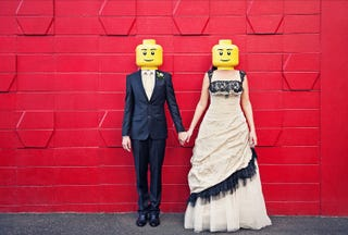 Illustration for article titled Meanest wife ever forces husband to sell his 661-lb Lego collection