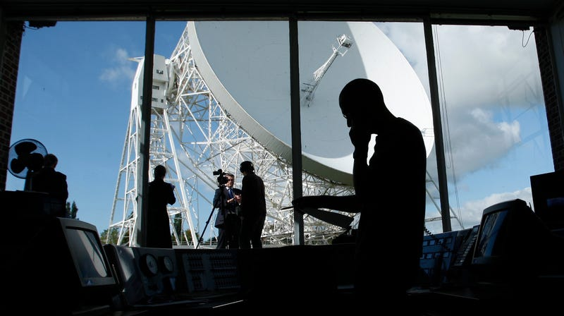 The Lovell Telescope control room at Jodrell Bank Observatory, 2007.