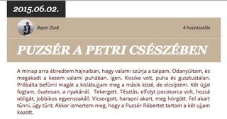 Illustration for article titled Semmilyen kapcsolatunk nincsen Habony Árpád úrral
