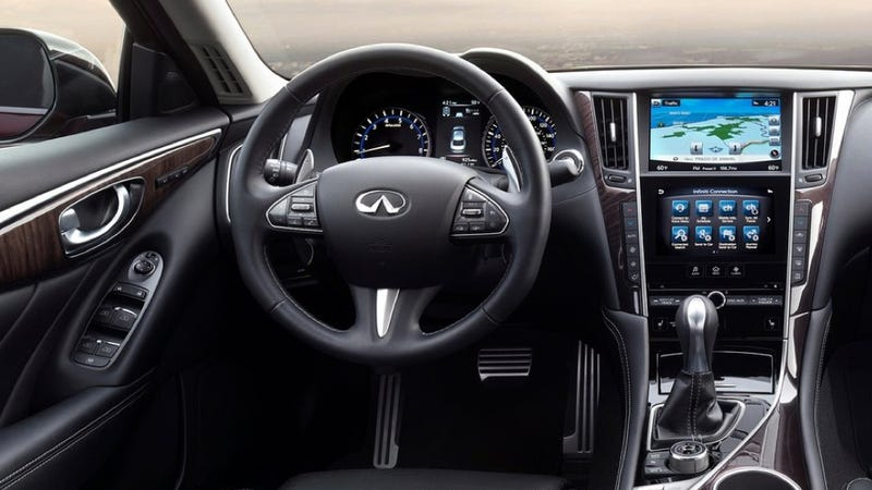 Illustration for article titled The Infiniti Q50 Is Being Recalled Due To A Potential Failure Of Its Wonky Steering