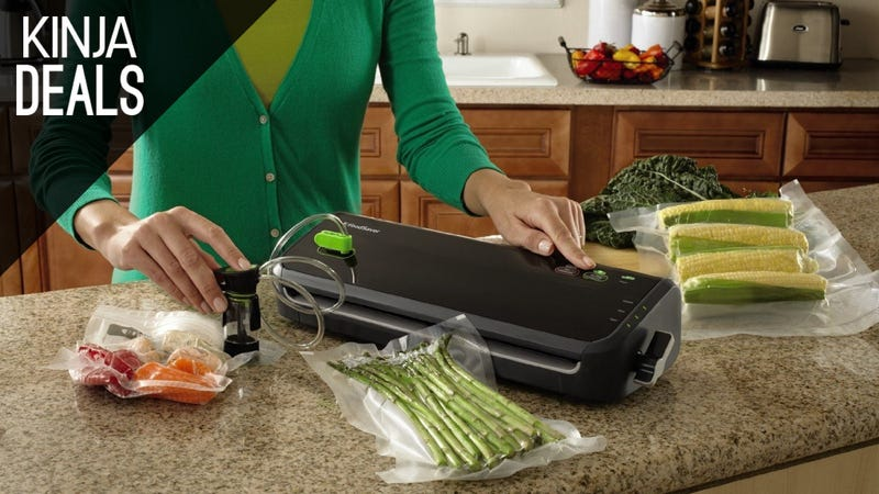 Illustration for article titled Keep Foods Fresh for Months With This Discounted Vacuum Sealer