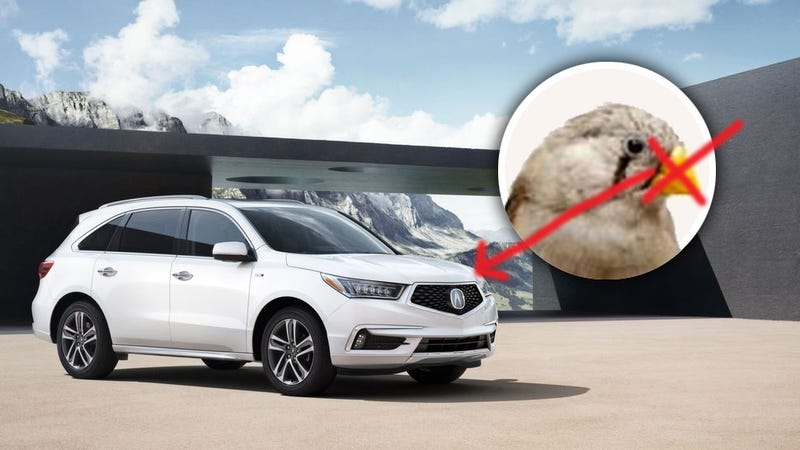 Illustration for article titled Acura Shows New Beakless Face And Hybrid Drivetrain On Refreshed MDX