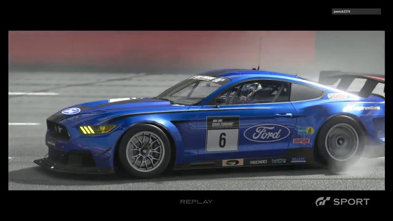 Illustration for article titled The GT3-like Ford Mustang racer on GT Sport and MARC Cars' Ford Mustang...