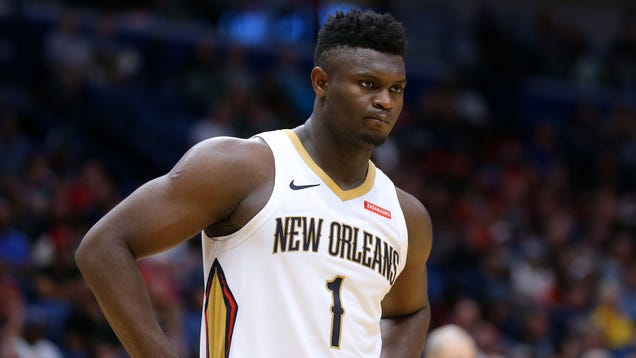 Pelicans Doctors Recommend Zion Williamson Drop Some Height To Lessen Stress On Injured Knee
