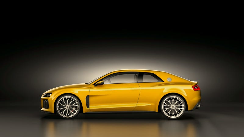 Illustration for article titled Audi Sport quattro concept