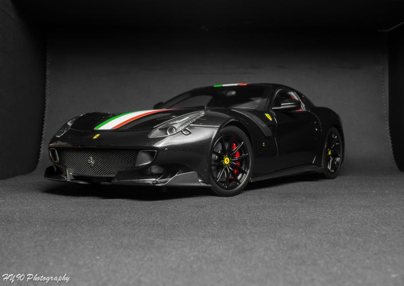 Illustration for article titled BBR Ferrari F12 Tdf Review (Picture heavy)