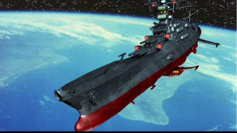 Illustration for article titled Star Blazers movie is a go, once more fulfilling our fantasies of being killed by aliens