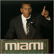 Illustration for article titled University Of Miami Pushes Forward With Awkward A-Rod Stadium-Naming Ceremony