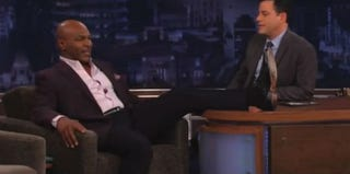 Mike Tyson and Jimmy Kimmel on Jimmy Kimmel Live! (ABC)