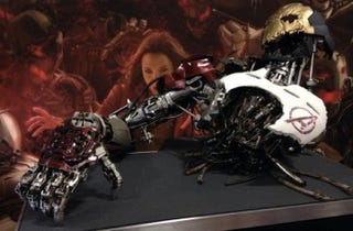 Illustration for article titled Brand New Avengers 2 Props Reveal Ultron Mark One
