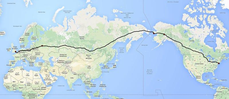 El faraónico proyecto ruso para unir Londres y Nueva York por carretera