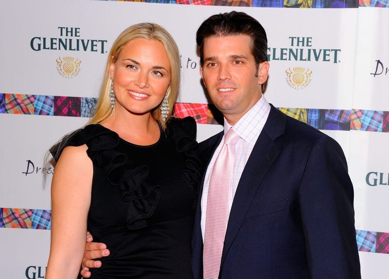 Vanessa Trump and Donald Trump Jr. in New York City on April 5, 2011