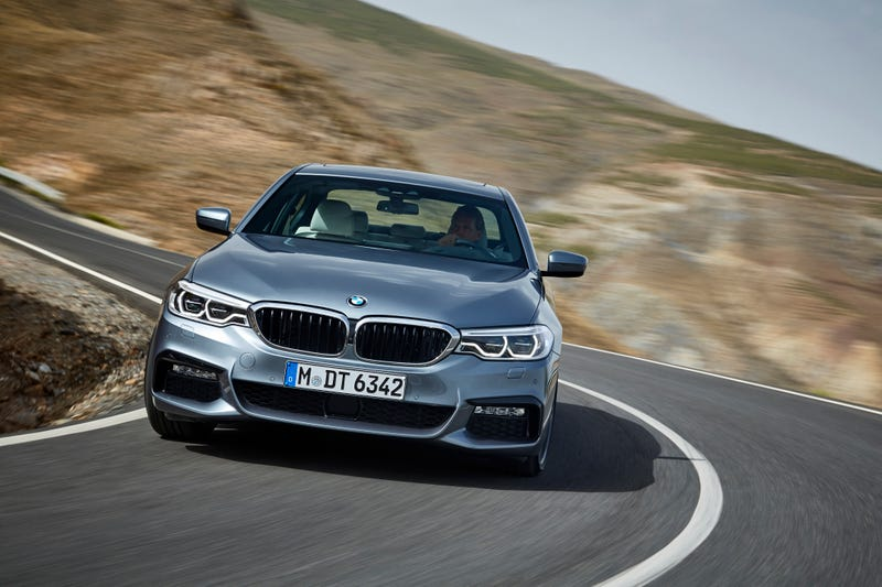 Illustration for article titled The 2018 BMW 540d Brings Diesel Back To America Along With A Ton Of Torque