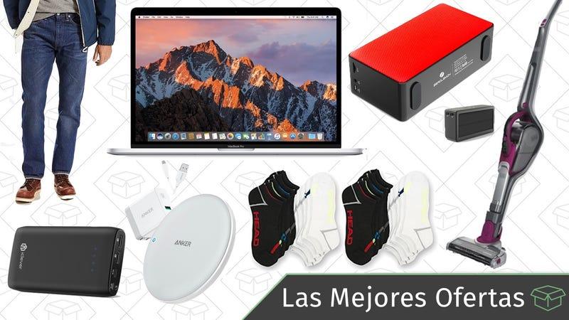 Illustration for article titled Las mejores ofertas de este jueves: MacBook Pro, cargadores inalámbricos, streaming de la NCAA y más