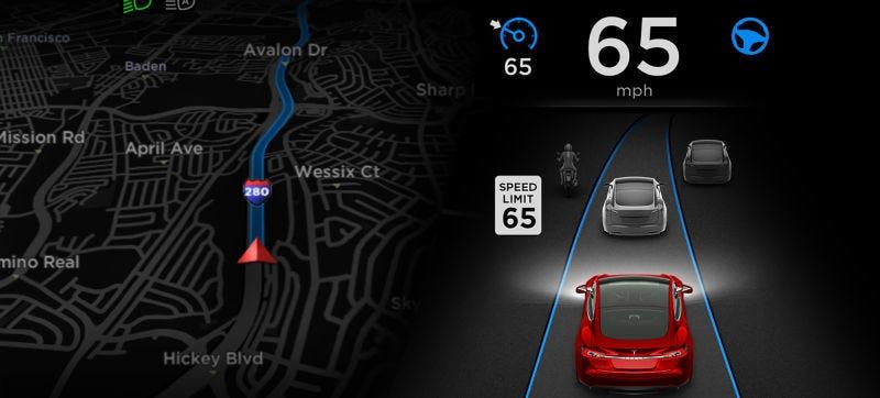 Illustration for article titled Tesla Blames Auto-Braking Instead Of Autopilot In Fatal Model S Wreck