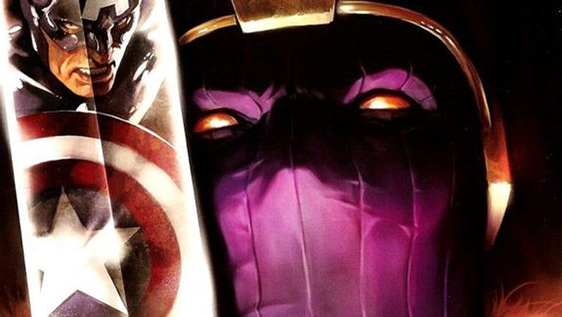 Illustration for article titled Primera imagen del traje de Zemo, el villano de los Avengers que regresa para la fase 4 del MCU