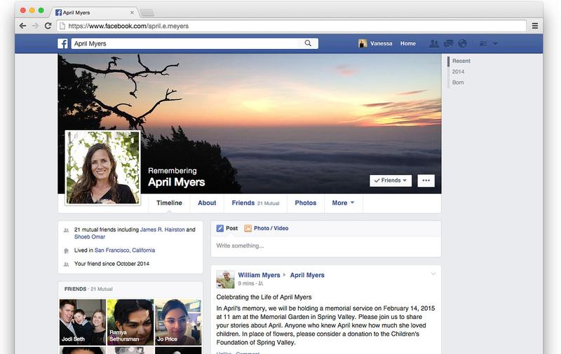 Illustration for article titled Por fin: Facebook permitirá elegir quien gestionará tu cuenta si mueres
