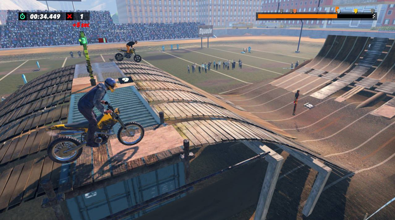 Illustration for article titled Trials Rising Switch eShop Screenshots Look Way Better Than The Real Thing [Update]