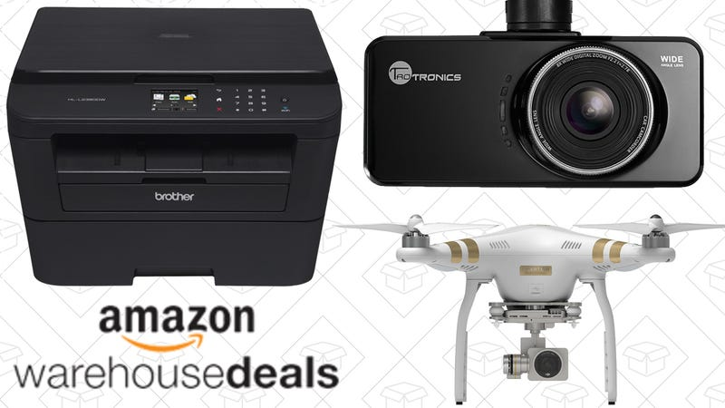 Illustration for article titled Saturday's Best Deals: Extra 15% off Amazon Warehouse, Brother Printer, DJI Drone