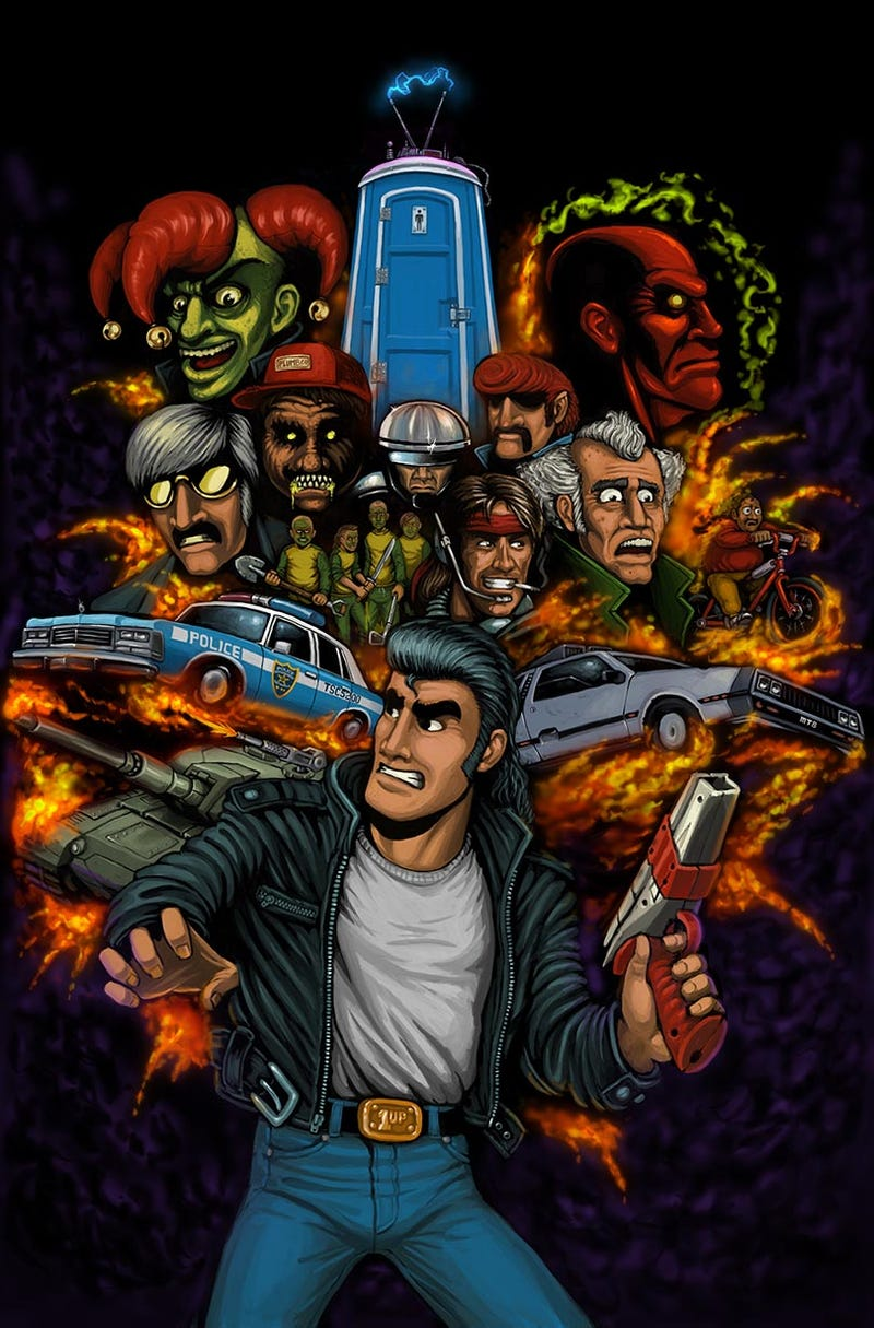 Illustration for article titled Name The Old Video Game References, Retro City Rampage Edition