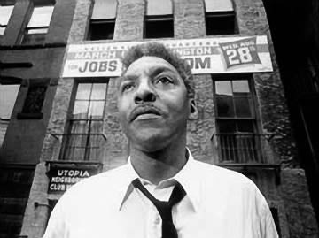 Bayard Rustin and Malcolm X debated back in 1962.