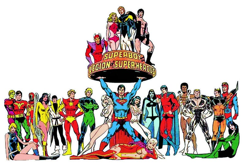 Illustration for article titled Add Legion Of Super-Heroes To The Pile Of DC Movies WB Wants To Make