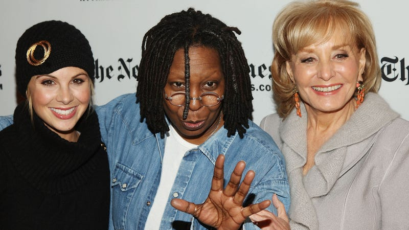 Illustration for article titled Whoopi Goldberg Is Still the Only Reliable Thing About The View,Extends Her Contract