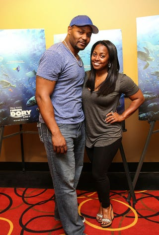 Ed Hartwell and Keshia Knight Pulliam Robin L Marshall/Getty Images