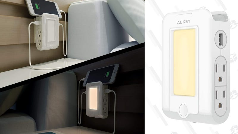 Aukey Surge Protector/Night Light | $14 | Amazon | Promo code WKJCRAED