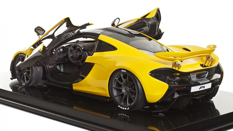 Illustration for article titled McLaren Recommends This Obscene $12,000 P1 Replica As a Stocking Stuffer