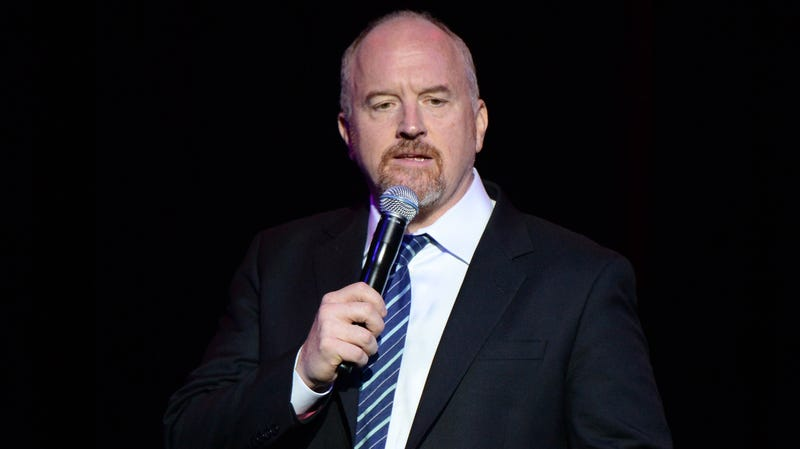 Illustration for article titled Louis CK dangles comeback plans in front of unwitting comedy-club audience