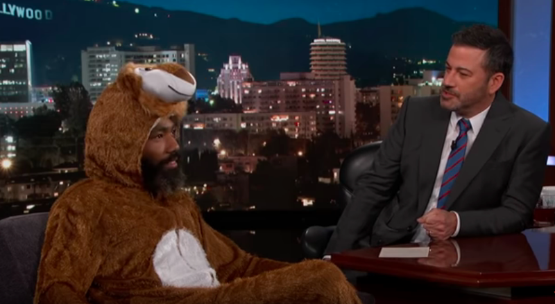 Donald Glover, Jimmy Kimmel