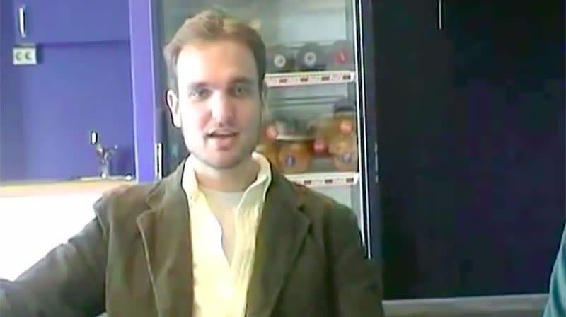 Jess Cliffe en una entrevista en el 2005