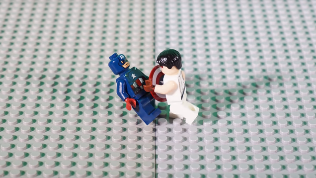 Ryu From Street Fighter Fights Captain America in This Animation, Because It s Cool