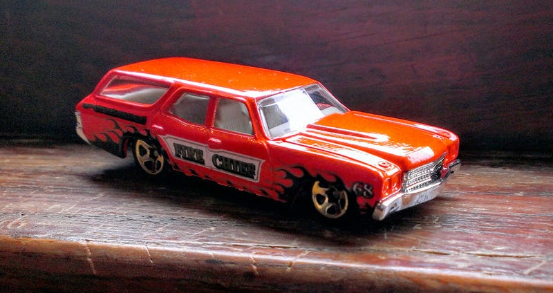 Illustration for article titled Wagon Wednesday - Hot Wheels 1970 Chevelle SS Wagon
