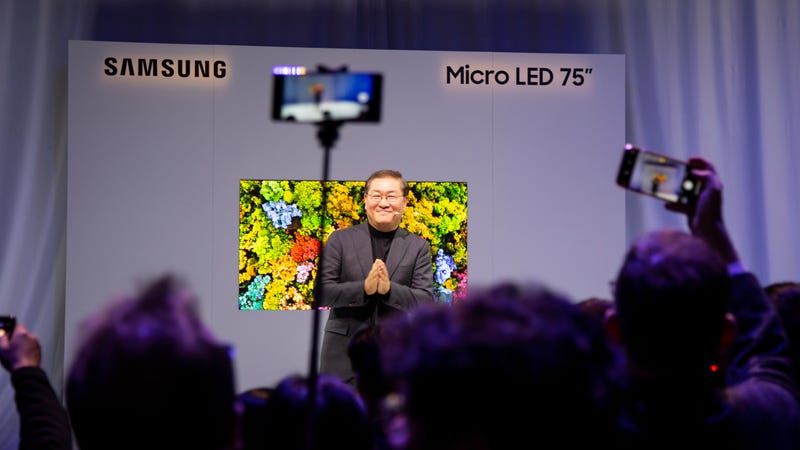 Samsung's MicroLED Future Raises Some Questions
