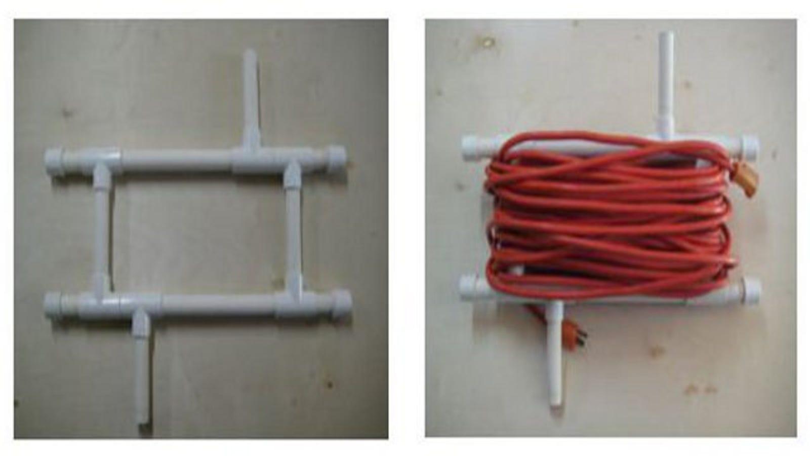 Diy Pvc Extension Cord Caddy