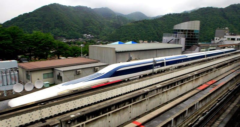 Illustration for article titled El tren más rápido del mundo es una bala a 500 Km/h