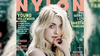 Illustration for article titled Nine-Year-Old Dakota Fanning Covers Nylon