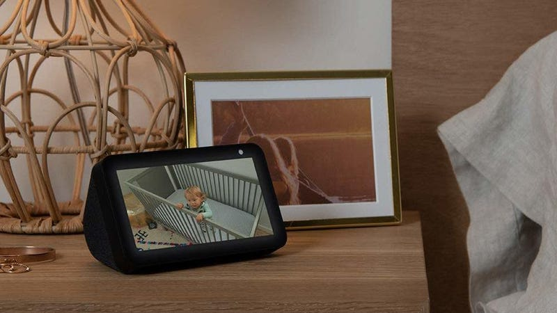 Illustration for article titled Amazon's Newest Gadget Is a Tiny Echo Show With a Physical Camera Cover